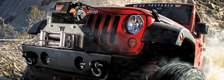 Jeep rojo 4x4 cooper tires